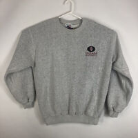 Vtg Mens L Indiana Hoosiers Pullover Sweatshirt Reverse Cotton USA Graphic IU