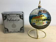 "Kurt S. Adler Polonaise Komozja Christmas Ornament San Francisco 4"" Ball"