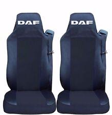 2 x Sitzbezüge Schonbezüge Bezüge Schwarz / Schwarz LKW DAF XF105 XF105 CF LF