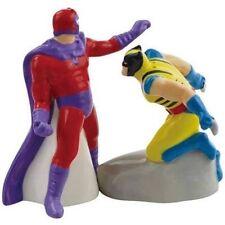 Westland Giftware Wolverine vs. Magneto Ceramic Salt and Pepper Shaker Set NEW