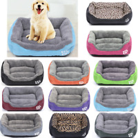 Deluxe Soft Cozy Pet Dog Cat Bed House Extra Large Warm Mat Mattress Washable