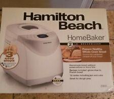 NEW Hamilton Home Baker 29881 2 LB 2LB Digital Bread Maker Free Ship