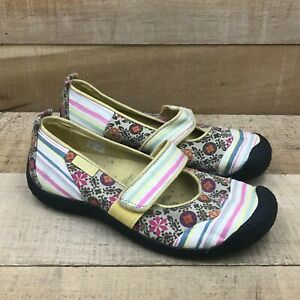 Keen Womens Harvest 1005553 Multicolor Casual Mary Janes Shoes Round Toe Sz 9.5