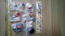 Bandai HG EVA Evangelion part 4 figure gashapon 6 pcs rei asuka gothic