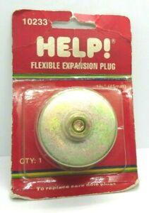 "Dorman Help 10233 1-3/4"" 1.750"" 45mm Rubber Expansion Plug 570-011 02605"
