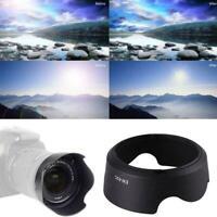 Black EW63C 700D Camera Lens Petal Hood For Canon f/3.5-5.6 STM EF-S IS 18- G9S7