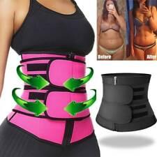 Women&Men Waist Trainer Neoprene Belt Sweat Body Shaper Tummy Control Girdle US