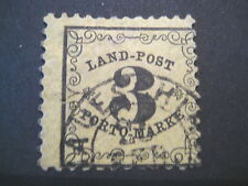 Baden Landpost 2 x, gestempelt, Brettl BPP