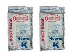 6 Hoover 110SW Bags for Spirit Canister Vacuum TYPE K
