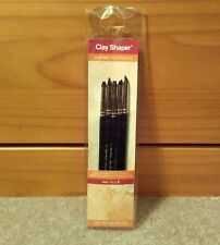 West Design Clay Shaper Tool Set Size 2 For Wax, Adhesives, Heavy Body Paint