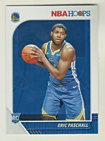 2019-20 Panini NBA Hoops #230 ERIC PASCHALL RC Rookie Warriors QTY AVAILABLE