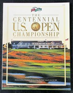 US OPEN GOLF TOURNAMENT 1995 CENTENNIAL PROGRAM Corey Pavin Champion
