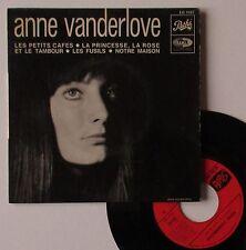 """Vinyle 45T Anne Vanderlove  """"Les souvenirs"""""""
