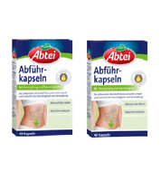 2xPack Abtei Laxative Capsules - 40 per pack  *GERMANY*