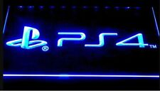 PS4 Playstation 4 LED Neon Bar Sign Home Light up Pub mancave game room arcade