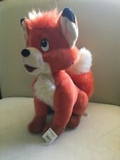 """NWT The Fox and the Hound Tod Todd Plush 12"""" Disney Store EXCLUSIVE Rare"""