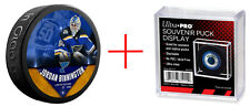 Jordan Binnington #50 St. Louis Blues Fanatics Exclusive Hockey Puck Ltd 1000