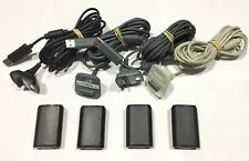 LOTE 4 BATERIAS Y CABLES PARA MANDO MICROSOFT XBOX 360 Rechargeable Battery Pack