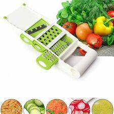 5PCS Super Slicer Plus Vegetable Fruit Peeler Dicer Cutter Chopper Nicer Grater