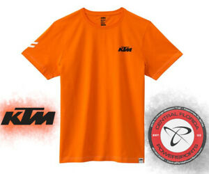 """NEW KTM RACING """"READY TO RACE"""" ORANGE TEE T-SHIRT MEN'S All Sizes"""