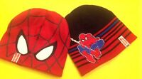 Marvel Ultimate Spider-Man Boy's Kids Reversible Beanie Hat Cap One Size NWT