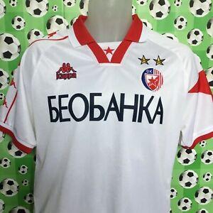 SMALL 97-98 RED STAR BELGRADE Away Football Shirt