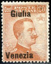 Occupazioni Venezia Giulia 1918/19 n. 23d * varietà (m2757)