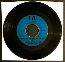 13TH FLOOR ELEVATORS You're Gonna Miss Me EX+ BLUE LABEL 1966 Orig Roky Garage