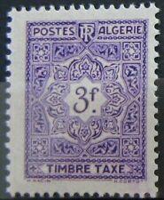 ALGERIE Taxe 40  - Neuf** sans charniere - Regroupez vos achats