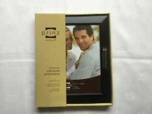 """Solid Wood Black Photo Frame with Royal Caribbean Logo size 8""""x10"""""""