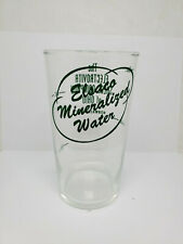 Vintage advertising measuring glass - Elsaco Mineralized water (1397)