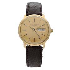 Vintage Girard Perregaux Gyromatic Day/Date 14K Yellow Gold Classic Men's Watch