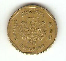 Offer>Singapore  one dollar  1990  coin  high grade! ??