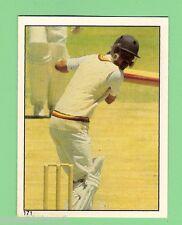 1982 SCANLENS CRICKET STICKER #171  GEOFF MILLER, ENGLAND