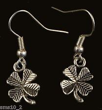 Hand Made Four Leaf Clover Earrings HCE108