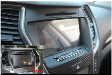 3D Carbon Navigation Side Sticker Decals For 13 14 2015+ Hyundai Santa Fe Sport