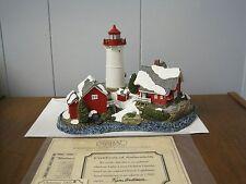 2002 Harbour Lights Lighthouse #714 Christmas Crossover Island, New York