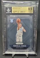 2015-16 Panini Prizm Nikola Jokic Rookie Card #335 RC Beckett (BGS) 9.5 Gem Mint