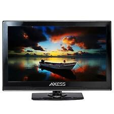 "Axess 15.4"" Led Tv Ac/Dc Tv Full Hd Hdmi Usb, Vga Monitor, Tv1701-15, New"