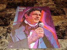 Johnny Cash & June Carter Cash Rare Signed Concert Program Country Music 1975