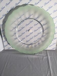 NIB Princess House Green Platter 6417