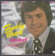 """7"""" Freddy Breck Annabell (Schöne Rose) / Einer kommt und einer geht 70`s EMI"""