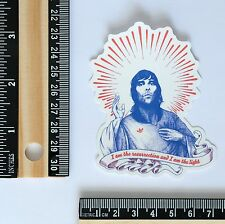 adidas Originals x Ian Brown light of god jesus style decal vinyl sticker #2640