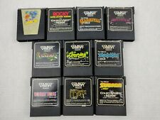 Lot of 10 Colecovision Games Donkey Kong Rocky Zaxxon Qbert Carnival Subroc
