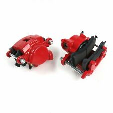 Front Red Brake Calipers Set S10 BLAZER PICKUP REGAL CAMARO MONTE CARLO FIREBIRD