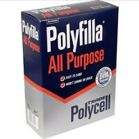 NEW Polycell Polyfilla All Purpose Filler 2kg -Fast Shipping Free P&P