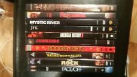 11 DVD Lot The Rock Face Off Commando American History X Conan Boogie Nights JFK