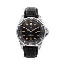 Rolex Submariner Date Vintage Auto 40mm Steel Mens Strap Watch 5513