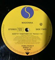 Madonna - Vogue - Sire W 9851 T/7599-21525-0 - 45 RPM - Made in Germany