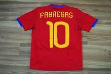 KIDS 11-12 YEARS 152 cm SPAIN TEAM HOME FOOTBALL SHIRT 2010/11 JERSEY FABREGAS
